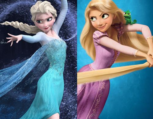 Disney Frozen rapunzel Elsa