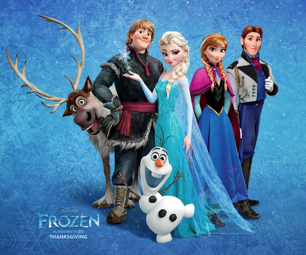 Por qué Frozen debería aparecer en Vogue