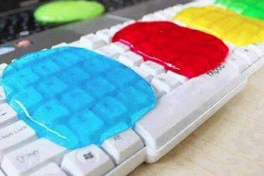 Limpiar teclado del ordenador