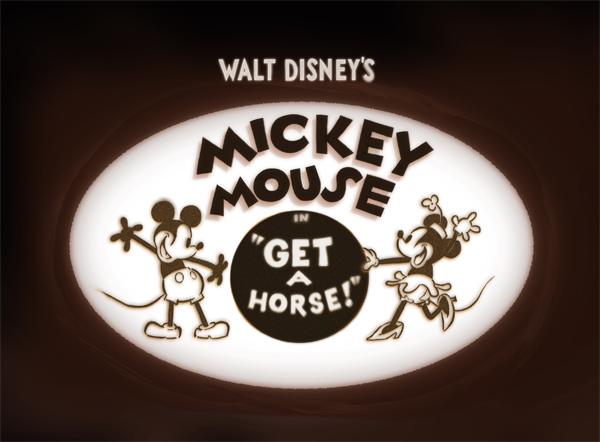 GET A HORSE DISNEY