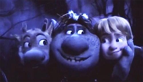 Frozen dinsey Trolls