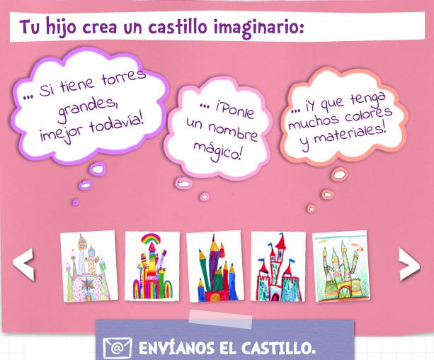 CASTILLO DE LA IMAGINACION DISNEYLAND PARIS