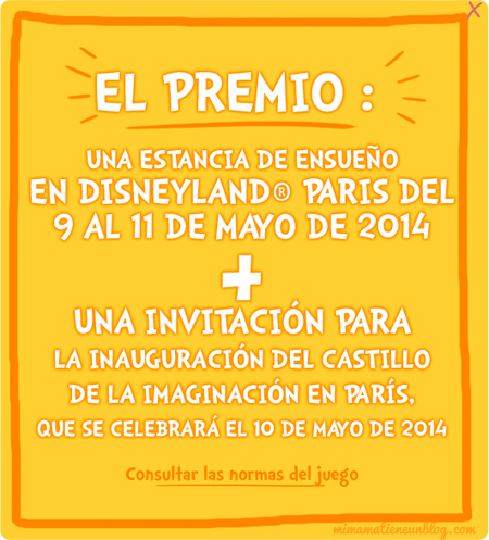 CASTILLO DE LA IMAGINACIÓN DISNEYLAND PARIS