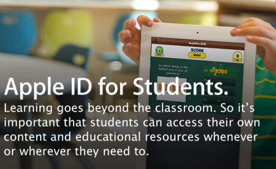 Apple ID estudiantes y menores de 13 años