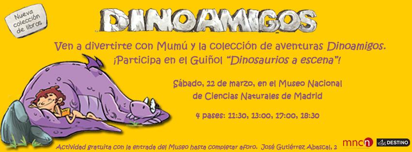 Dino Amigos Museo ciencias Naturales