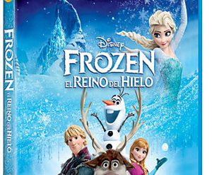 Frozen DVD Blue Ray 3D