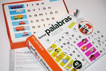 Juegos educativos Palabras 5 años