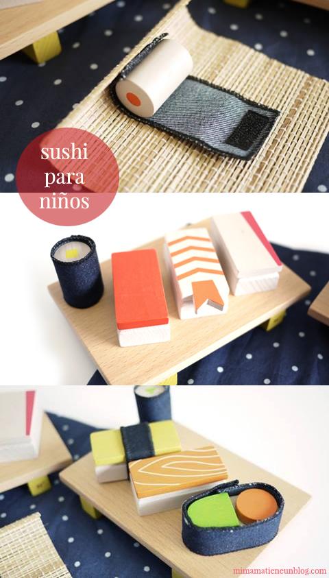 Sushi para niños