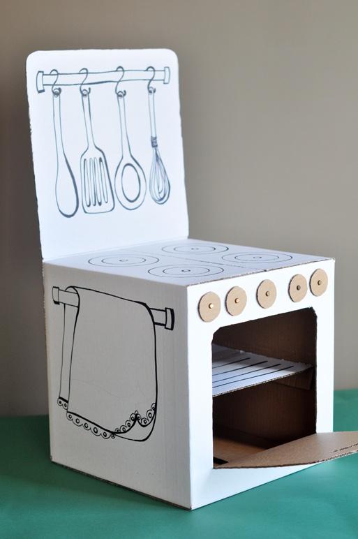Manualidades con cajas - jugar con cajas - ideas