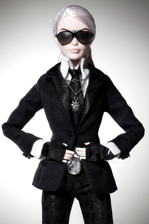 Karl Lagerfeld Barbie