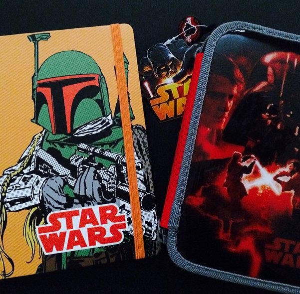 star wars estuche disney