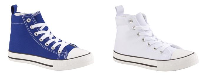 Zapatillas C&A tipo converse