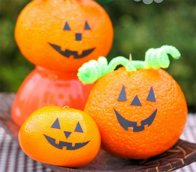 recetas e ideas sanas y faciles para halloween