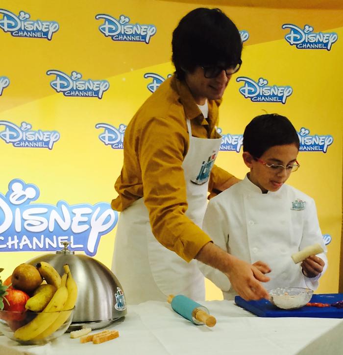 Un, dos, chef - Disney Channel - Aimar - Luis Piedrahita - Cocina