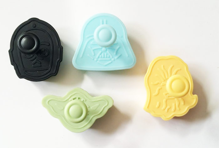 Cortadores de galletas expulsor STAR WARS DISNEY