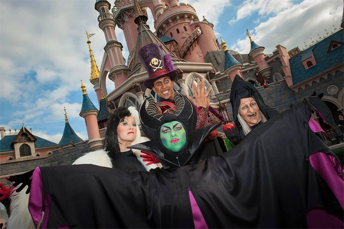 Disneyland Paris Halloween 2014 Disney Malefica