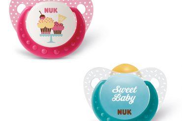 NUK Biberones y chupetes cupcakes