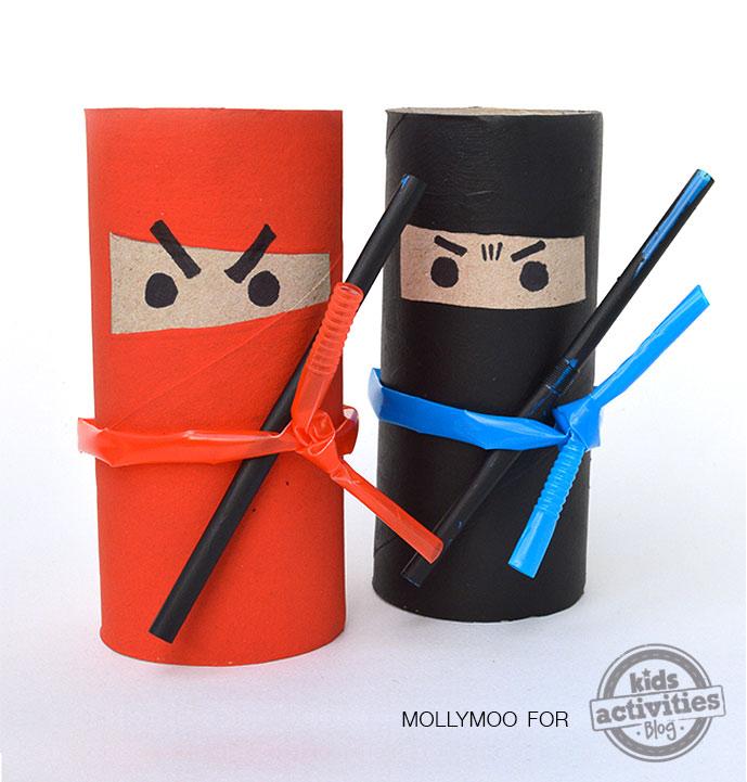 Manualidades para niños: Ninjas molones