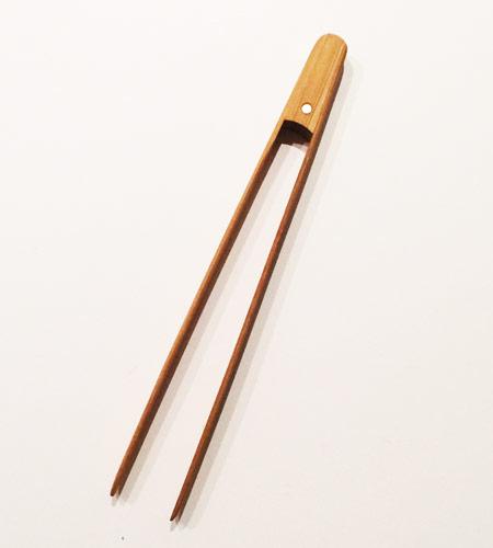 QOCOOK DIYSHOW pinzas madera tostadas