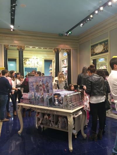 Inauguración Disney Store Barcelona