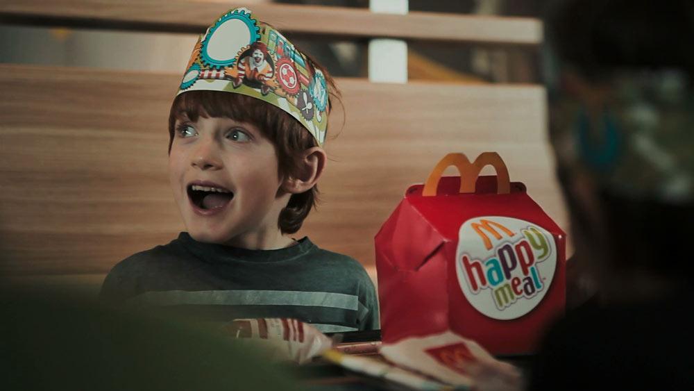 mcdonlds menu celiacos niños happy meal anuncio