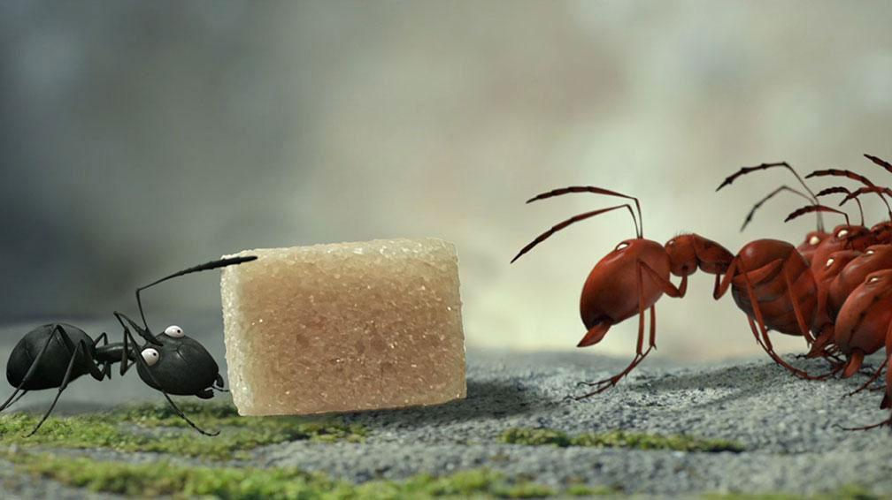 Minúsculos El valle de las hormigas perdidas