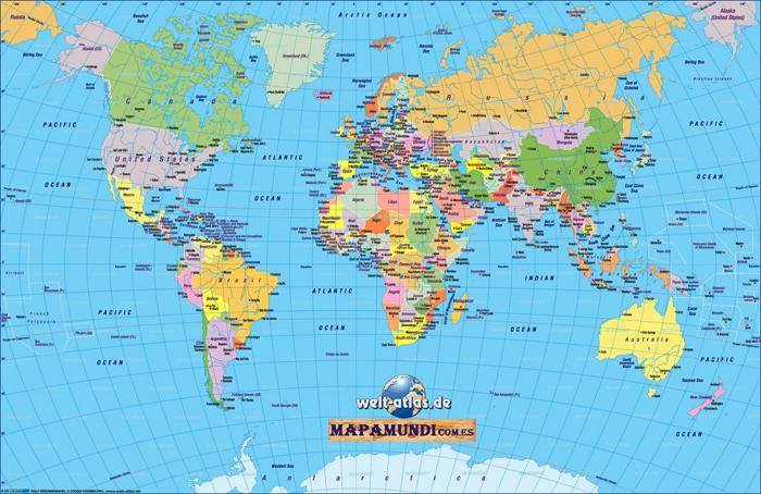 De compras con un mapamundi mi mam tiene un blog for America todo un inmenso jardin eso es america