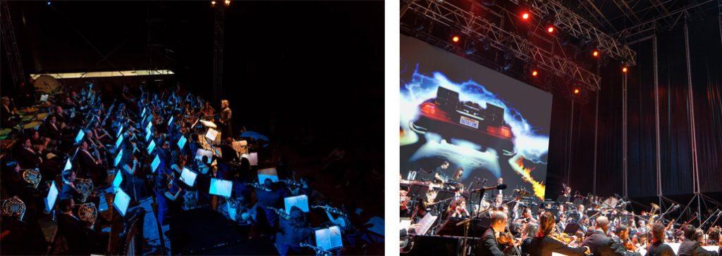 regreso al futuro orquesta concierto vistalegre