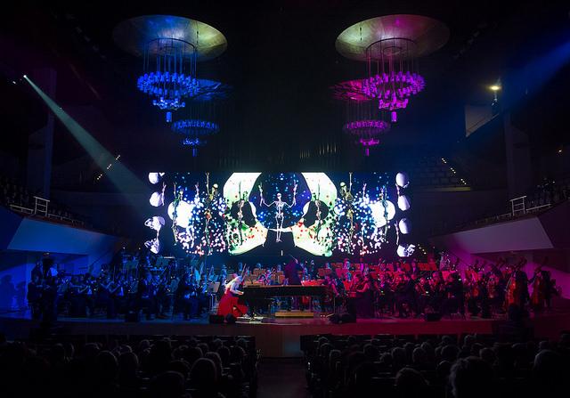 auditorio musica con niños opera coro clasica