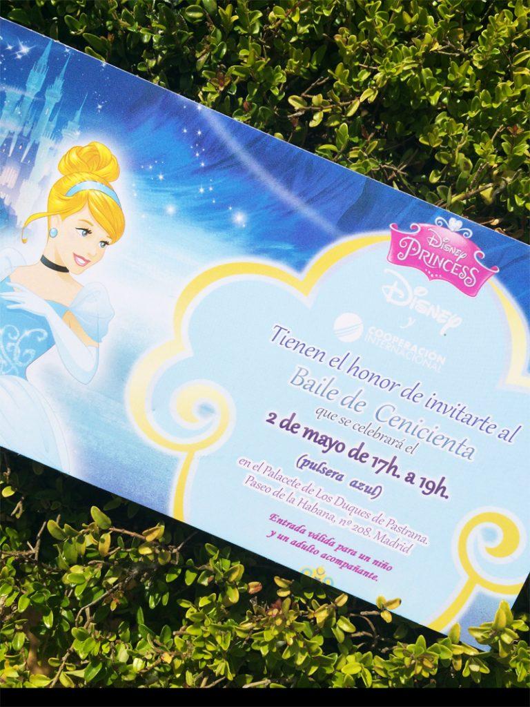 Baile Cenicienta Disney Madrid 2015 Palacete duques pastrana