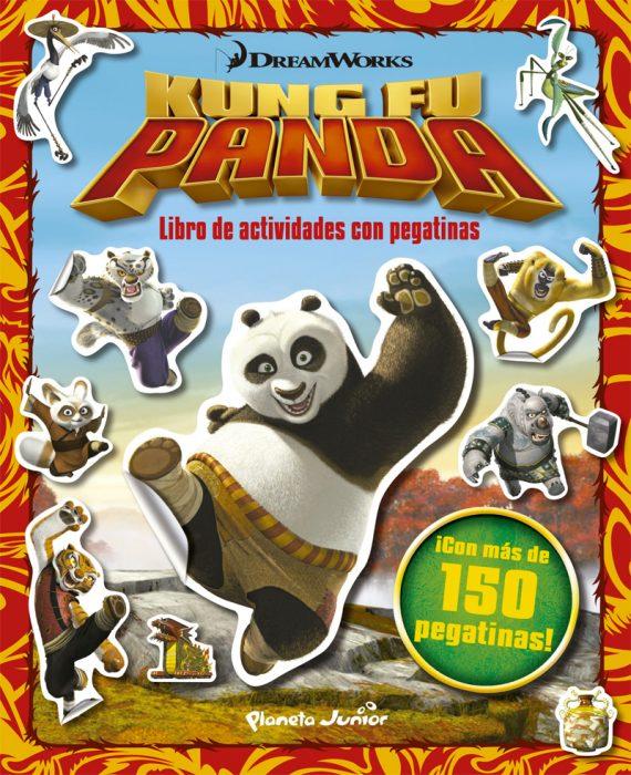 libro actividades kun fu panda planeta