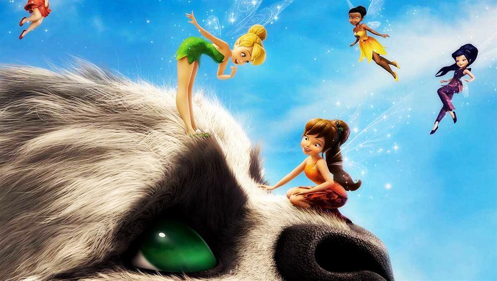 Campanilla y la leyenda de la bestia DISNEY  cine