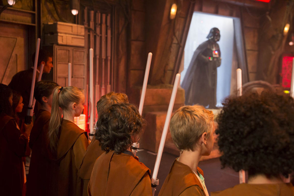 Academia Jedi Star Wars Disneyland Paris Academy