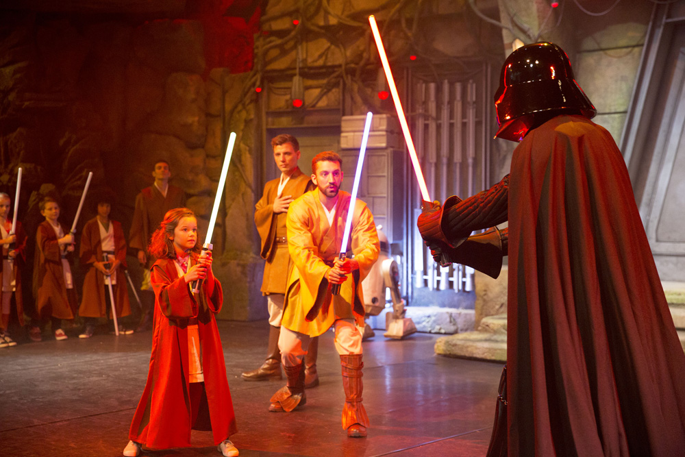 Academia Jedi Star Wars Disneyland Paris