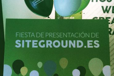 Presentacion siteground.es Hosting Site Ground España Influenzia Espacio Mood