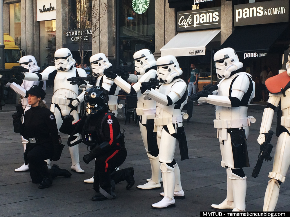 STAR WARS TROOPERS CALLAO FORCE FRIDAY EL CORTE INGLES PRESENTACION THE FORCE AWAKENS