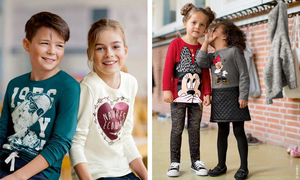 Ropa niños Moda infantil C&A