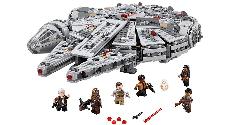Halcon milenario lego star wars 2015