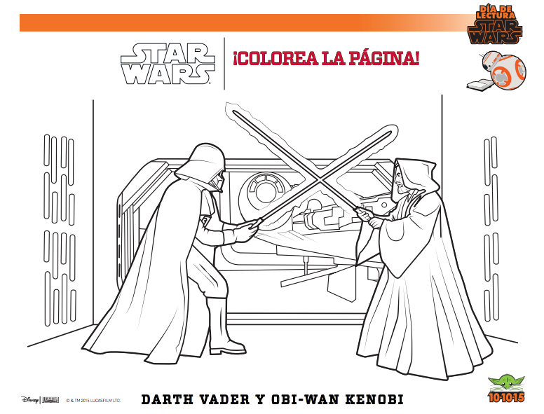 Coloreal star wars pasatiempos
