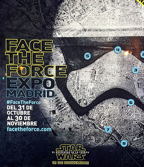 Face The Force Expo Madrid 2015