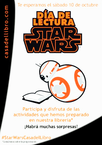 Dia Lectura Star Wars Reads Day España Madrid