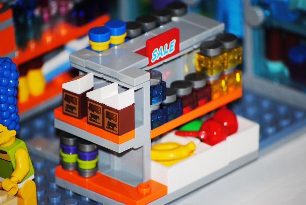 lego los simpsons badulaque kwik-e-mart Set 71016