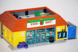 lego los simpsons badulaque kwik-e-mart Set 71016