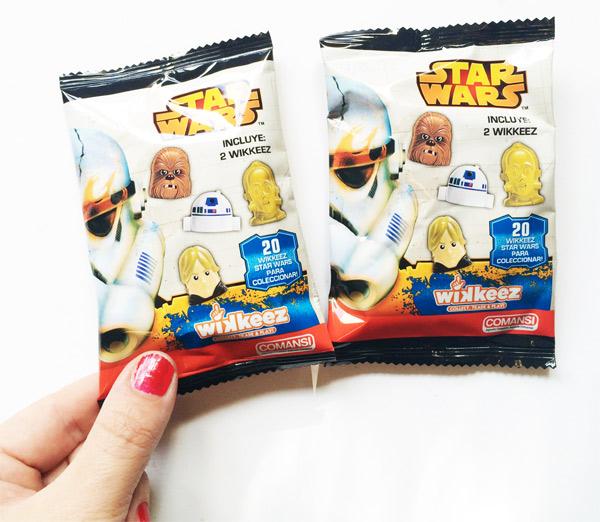 Wikkeez Star Wars Sobres personajes precio donde comprar