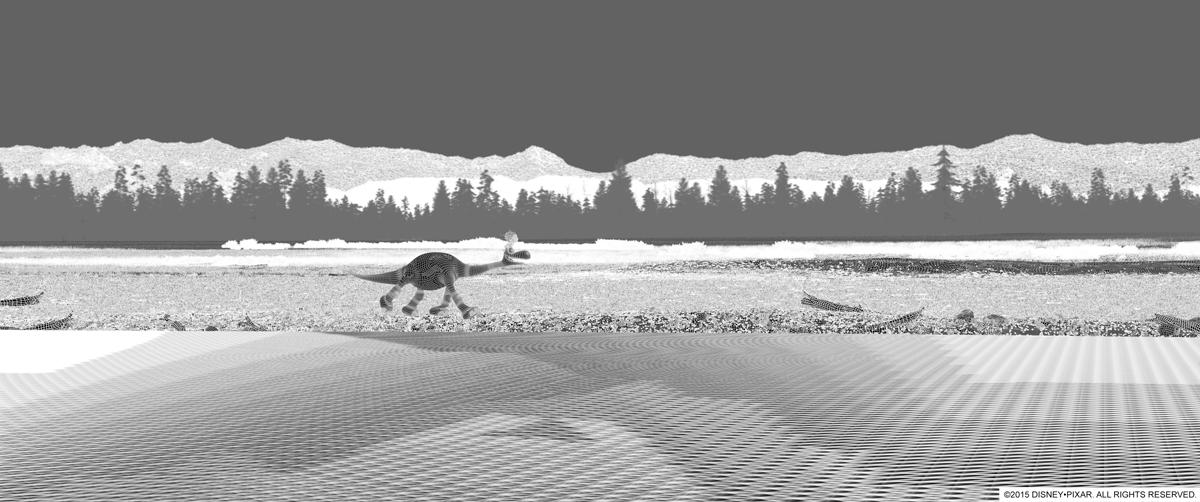 El Viaje de Arlo- The Good Dinosaur - Cómo se hace una película de animación - Pixar Paso 3
