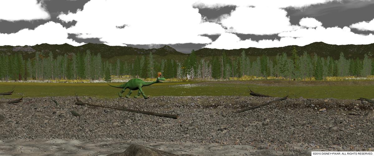 El Viaje de Arlo- The Good Dinosaur - Cómo se hace una película de animación - Pixar Paso 2