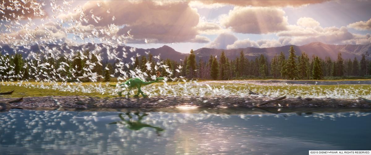 El Viaje de Arlo- The Good Dinosaur - Cómo se hace una película de animación - Pixar Paso 6