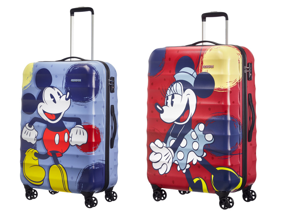 Maletas para niños Mickey Mouse Minnie