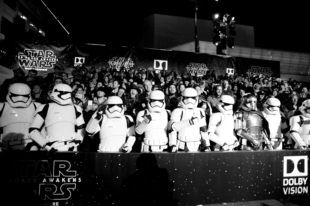 Premiere Star Wars The Force Awakens El despertar de la Fuerza 2015
