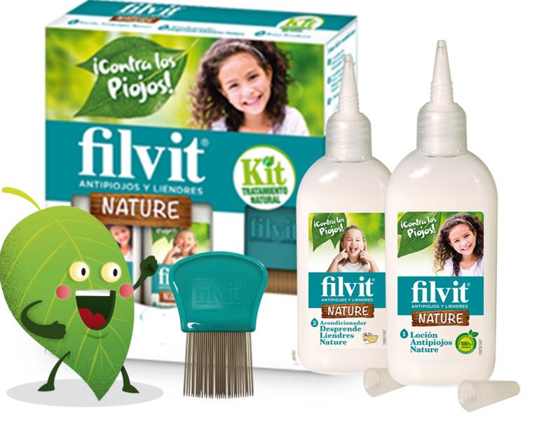 Remedios y productos contra los piojos FILVIT
